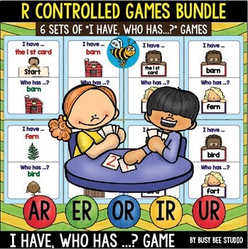 Bossy R Games Bundle: I have, who has