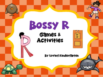 Bossy R Games ar, or, er, ir, ur