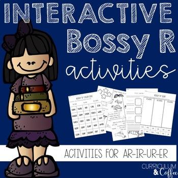 Phonics Bossy R Interactive Activities