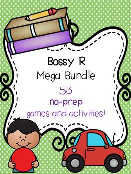 Bossy R Mega Bundle! [53 no-prep games and activities]
