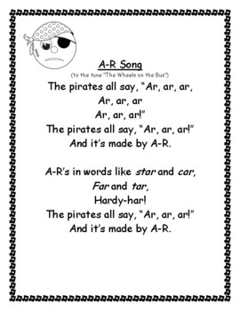 Bossy R Music and Worksheet Packet