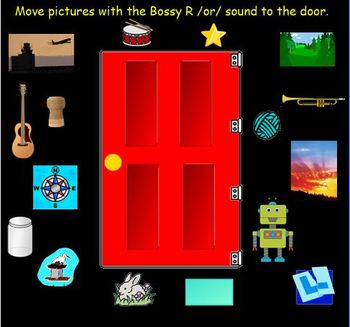 Bossy R /OR/ for the SMART Board
