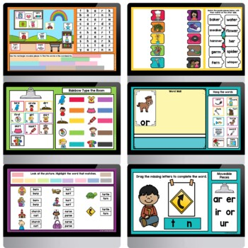Bossy R Controlled Vowels Bundle