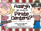Bossy R Pirate Centers (a mini unit to teach the /ar/ spelling pattern)