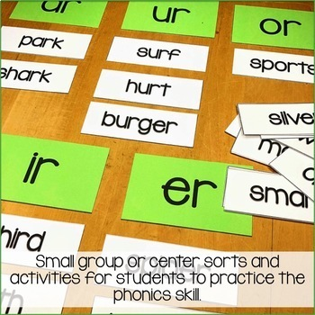 Bossy R-Posters, Sorts & Worksheets