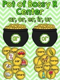 St. Patrick's Day Literacy Bossy R Center (Differentiated)