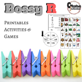 """Bossy R"" Printables and Games Phonics and Spelling"