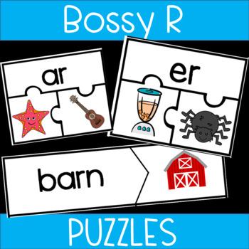 Bossy R Puzzles: or, ar, er, ir ,ur