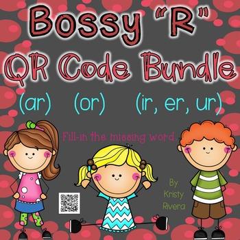 """Bossy """"R"""" QR Codes Bundle"""