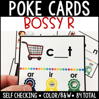 Bossy R/R Controlled Self Checking Poke Cards