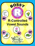Bossy R (R-Controlled Vowel Sounds) Original Poems and Worksheets