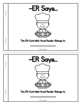 Bossy R - R Controlled Vowels Emergent Readers!