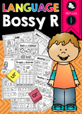 Bossy R, R Controlled Vowels, Printable Packet