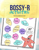 Bossy R Controlled Vowels Activity Worksheets, 1st or 2nd