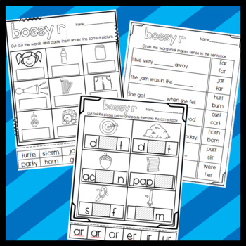 Bossy R Resources: Puzzles, Stories, Worksheets, and More