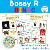Bossy R  Sentence Bingo
