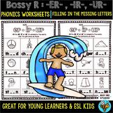Bossy R Sorts -er, -ur, ir | Missing Letters Worksheets