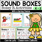 Sound Boxes- Bossy R with Practice Pages {Spring Theme}