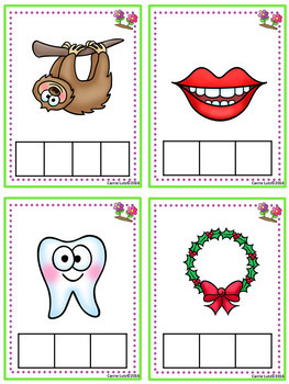 Consonant Digraphs  Sound Boxes with Practice Pages {Spring Theme}