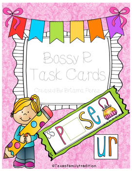 Bossy R Task Cards