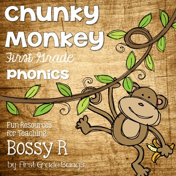 Bossy R- Teaching Resources and Literacy Centers