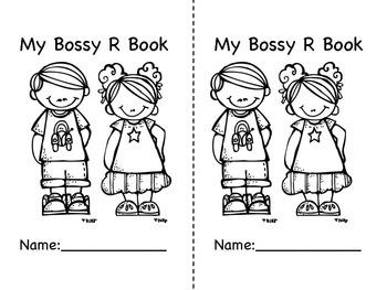 Bossy R Unit- R Controlled Vowels