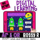 AR OR R Controlled Vowel Words Sort for BOOM™ & GOOGLE™ DI