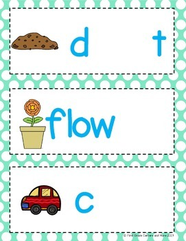 Bossy R Word Building Mats R-Controlled Vowels