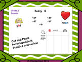 Bossy R Word Sorts and Practice