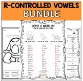 Bossy R Word Work, Activities, Games Bundle (ar, er, ir, or, ur)