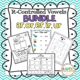 Bossy R Word Work, Activities and Games (R Controlled Vowe