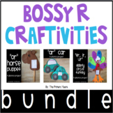 R Controlled Vowels Word Work Craftivities - Phonics Project BUNDLE