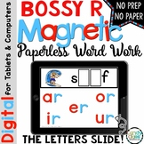 Bossy R Digital Word Work: Phonics Distance Learning for M