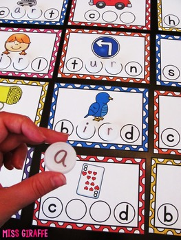 Bossy R Words Bottle Cap Centers (R controlled vowels)