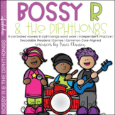 Bossy R and the Diphthongs - Reading Vowels & Phonics Activities and Games