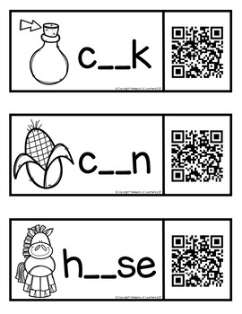 Bossy R (ar & or) with QR codes