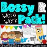 Bossy R (er, ir, ur) Pack! 3 Weeks of Lesson Plans, Activities, and Word Work!