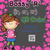 "Bossy ""R""  (ir, er, ur)  QR Codes"