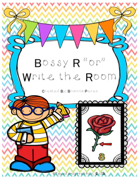 """Bossy R """"or"""" Write the Room"""