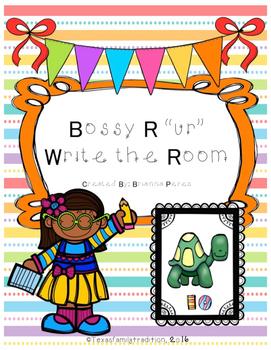 "Bossy R ""ur"" Write the Room"