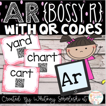 Bossy R with QR Codes (AR Only)
