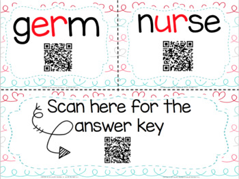 Bossy R with QR Codes (R-Controlled Vowels)