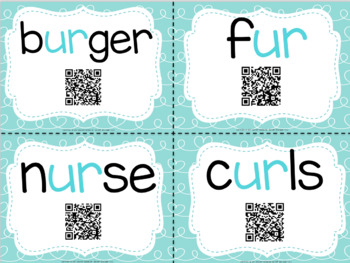 Bossy R with QR Codes (UR only)