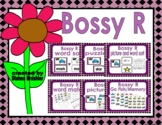 Bossy R word, picture, and puzzle sort
