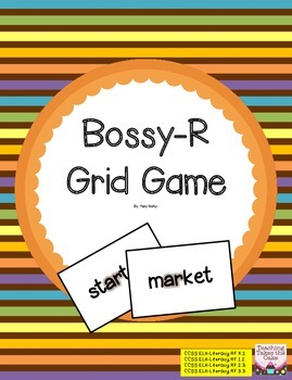 Bossy R/R-Controlled Grid Game - Phonics