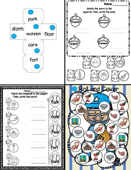 """Bossy R/R Controlled Vowel: What's the Score? (An """"OR"""" Unit)"""