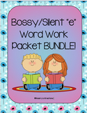 Bossy/Silent e Word Work Packet BUNDLE!!!