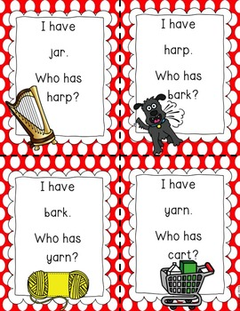 R Controlled Vowel AR {Games, Posters & Printables}