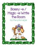 Bossy -e Magic -e Write the Room
