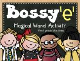 Bossy e Magical Wand Activity